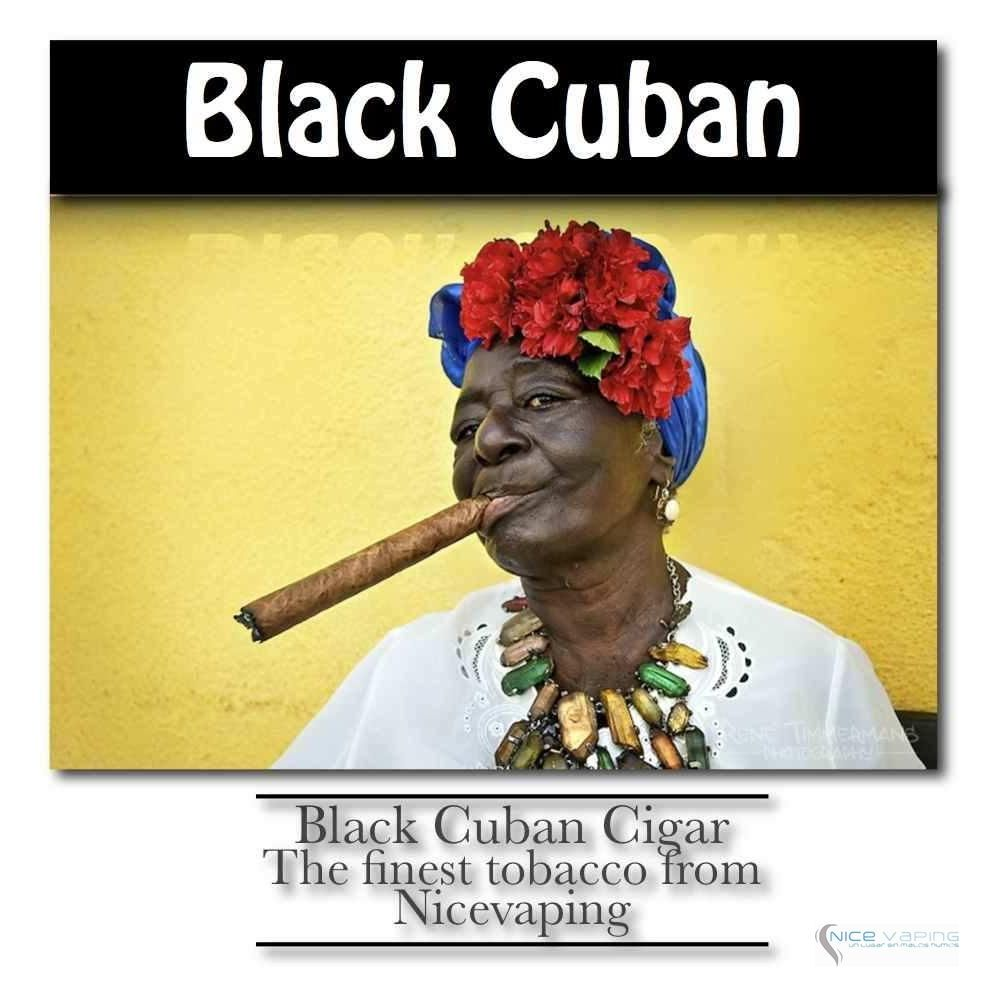 Black Cuban Cigar