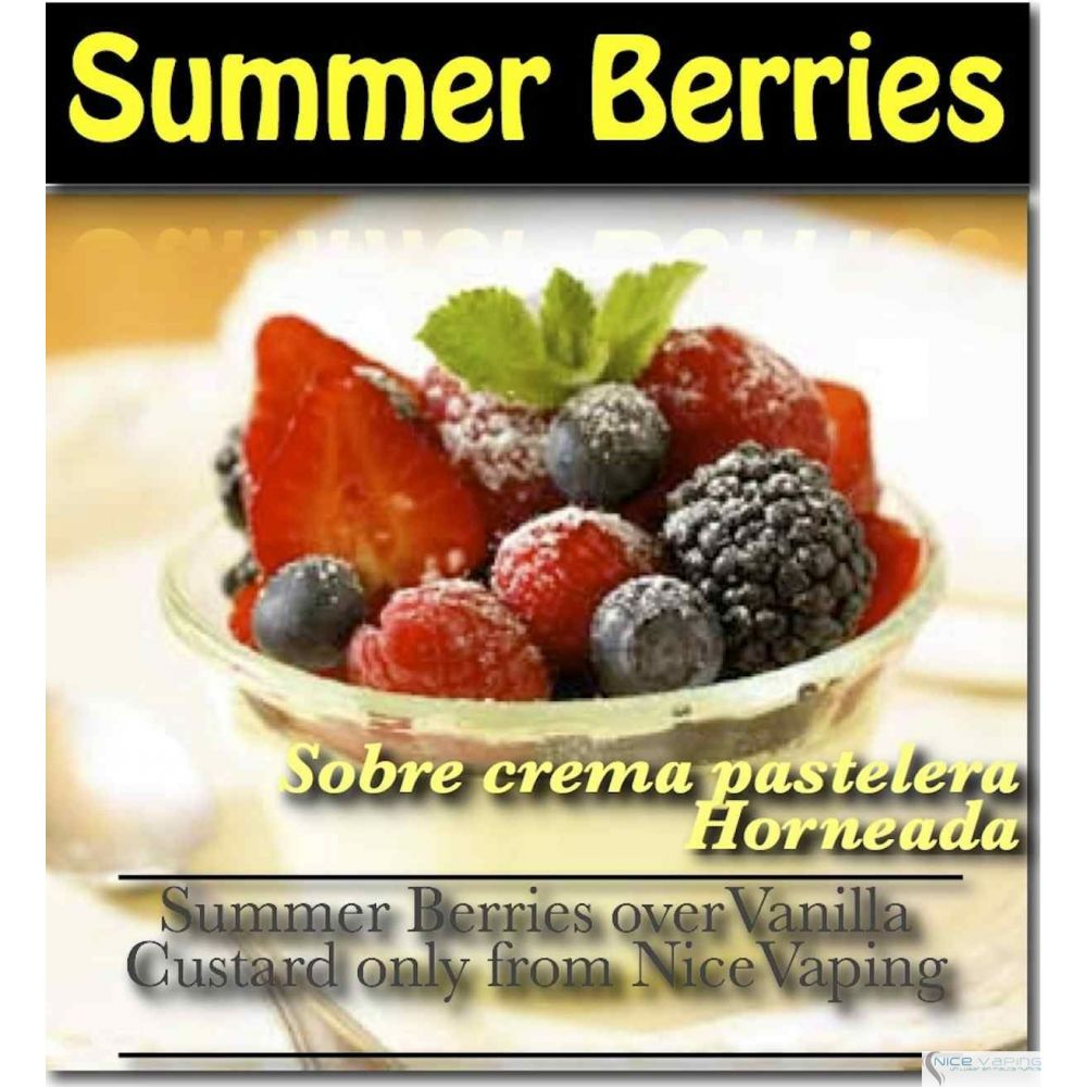 Summer Berries Vanilla Custard Premium