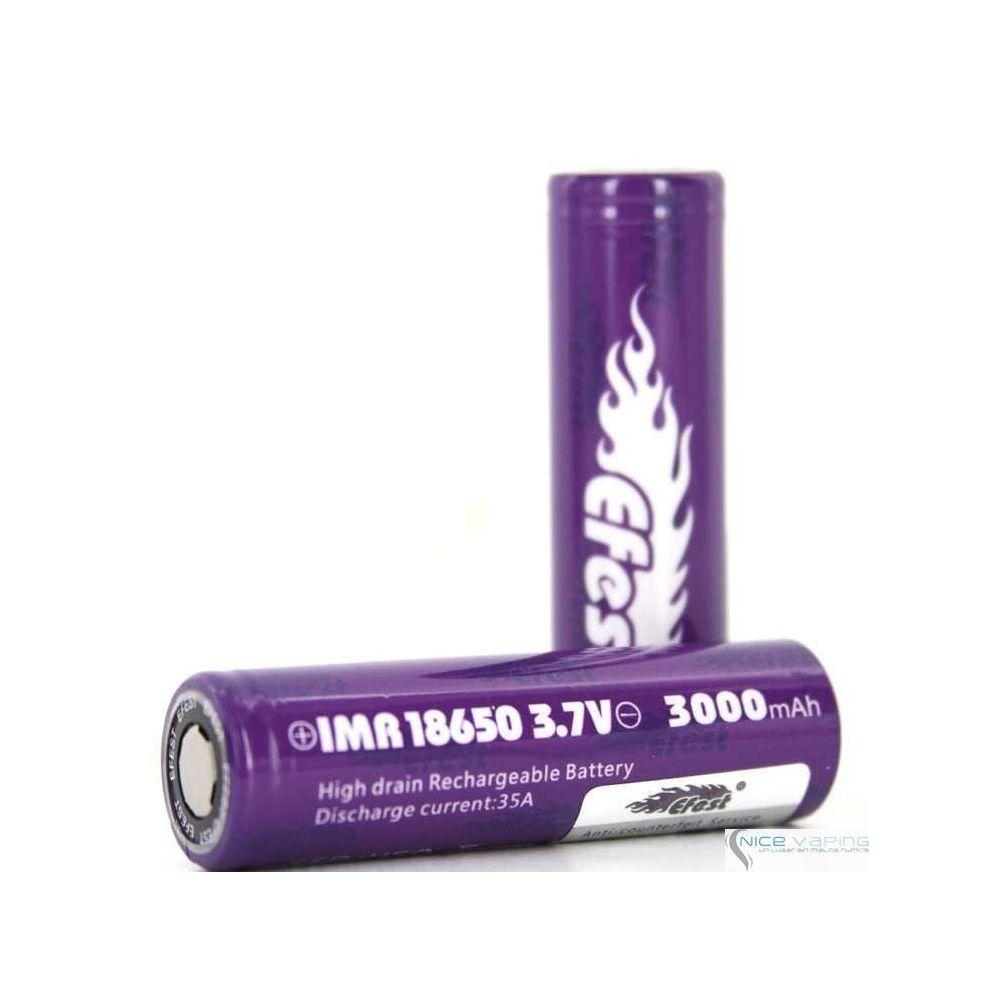 Efest 18650 Flat Purple 3000mah 35A