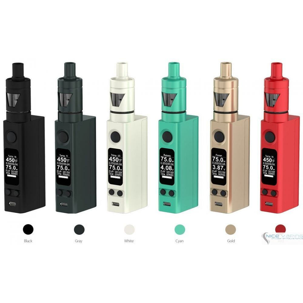 eVic VTC TRON Mini KIT 75W by Joyetech, Actualizable