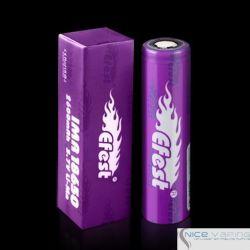 Efest 18650 Flat Purple 2600mah 40A