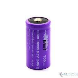 EFEST 18350 IMR TOP Purple, 700 mah, 10.5 A