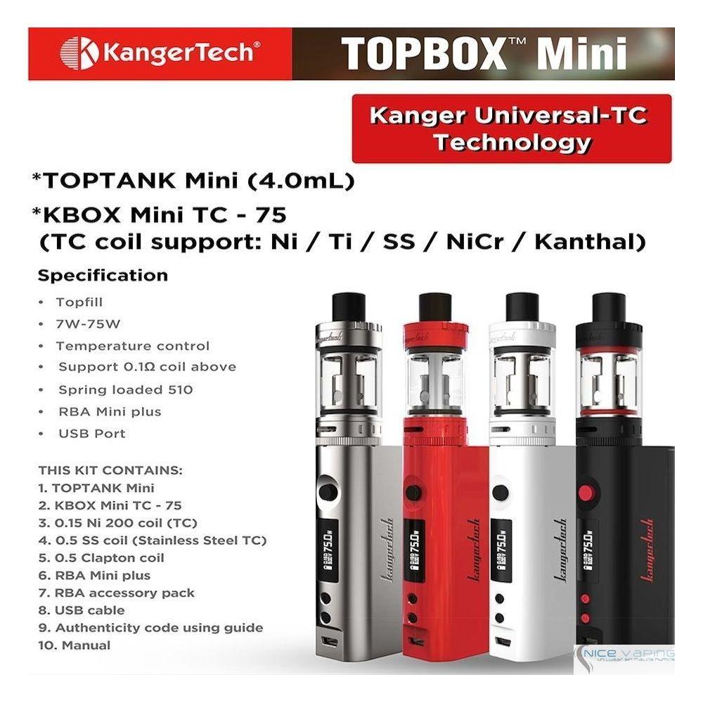 Kanger TopBox Mini 4 ml