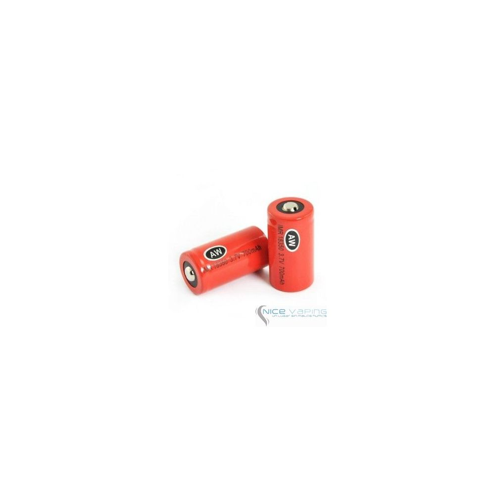 AW 18350 IMR Red 10.5A 700mah