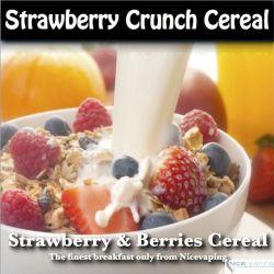 Fresa & Berries Crunch Cereal Premium