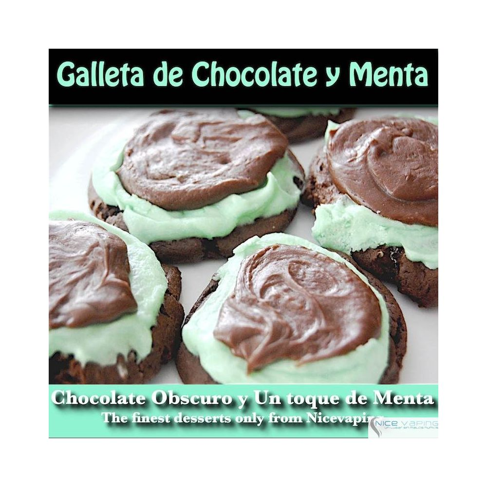 Galleta de Chocolate & Menta Premium