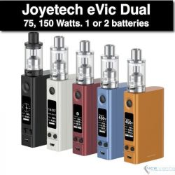 eVic VTC Dual ULTIMO KIT 75, 150W by Joyetech, Upgradeable