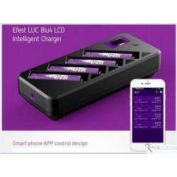 EFEST LUC BLU4 Charger