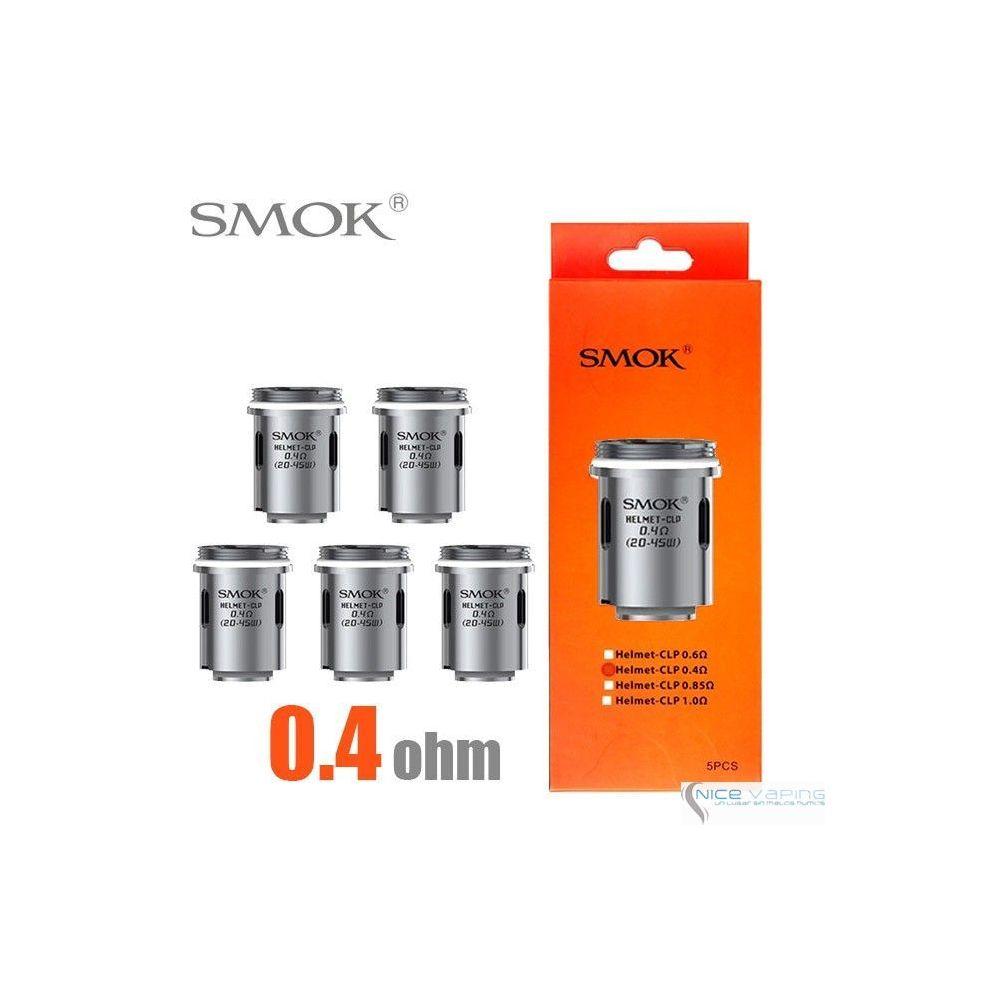 Resistencia SMOK Helmet Tank - 0.4 Ohms (20-45W)