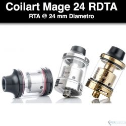 CoilArt Mage RDTA @24mm, 3.5 ml.