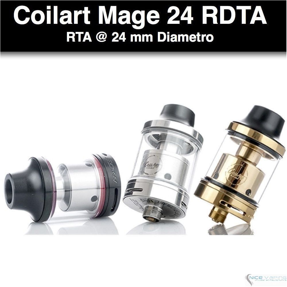 Coilart Mage 24 RTA @24mm