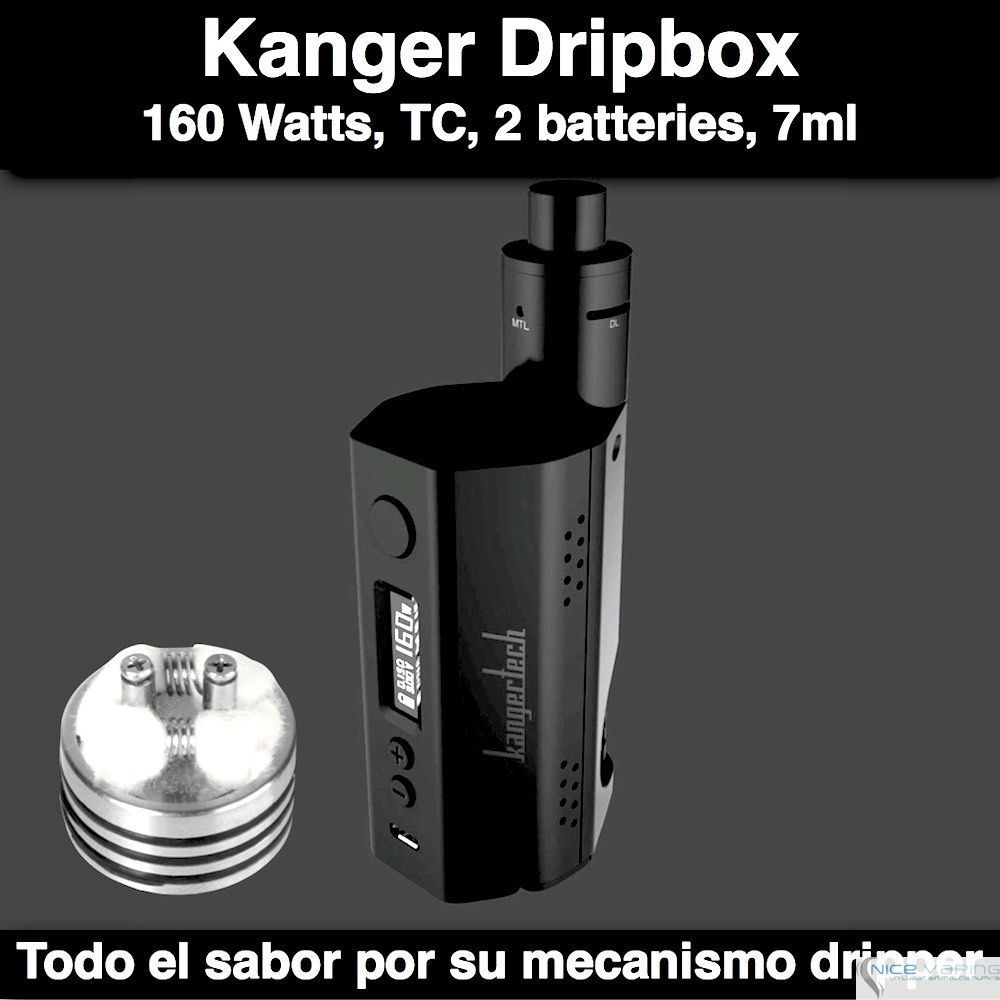 Kanger Dripbox 160W @ 7 ml
