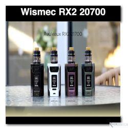 Wismec RX2 200W- Dual 20700 or 18650