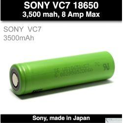 Sony VC7 30A 3500 mah - 8 Amp max