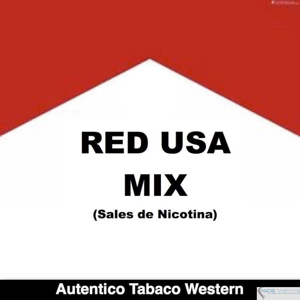 Red USA Mix - (Nicotine Salts)