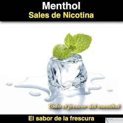 Menthol  (Sal de Nicotina)