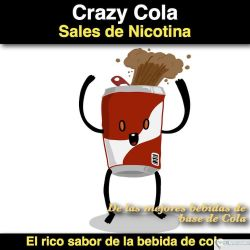 Crazy Cola- (Nicotine Salts)