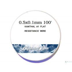 Kanthal A1. Flat Resistivo - Lighting Vapes
