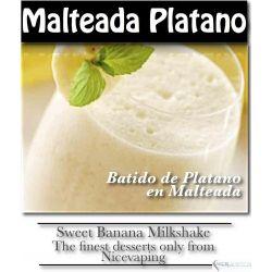 Malteada Platano Premium