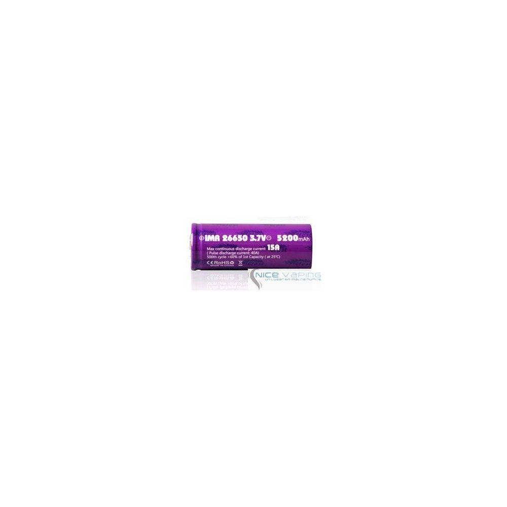 Efest IMR 26650 5,100 mah Flat top, 40 A