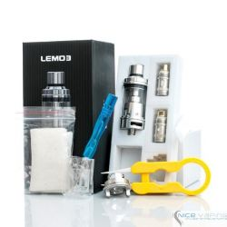 Lemo 3 RTA by ELEAF @4ml, Stainless Steel