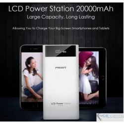 LCD Power Bank - Pisen, 20,000 mah