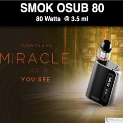 SMOK OSUB Kit 80W 3,300 mah@3.5ml