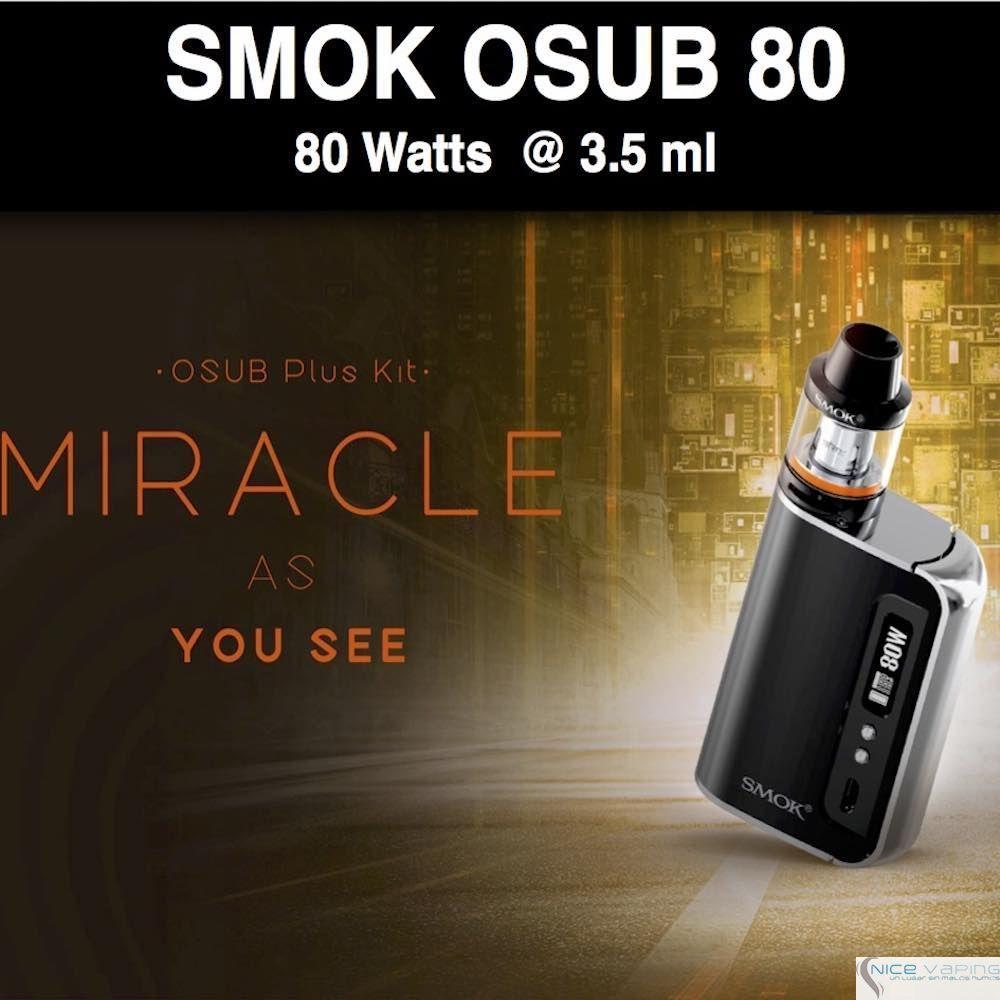 SMOK OSUB Kit 80W -3,300 mah@3.5ml