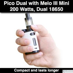 Eleaf Pico Dual Kit 200W, 2 ml
