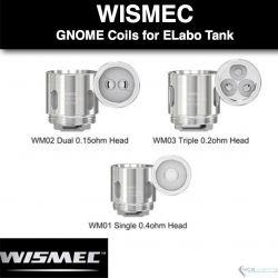 Resistencia Wismec WM - Gnome, ELABO, Predator