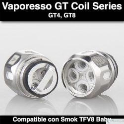 Vaporesso Coil NRG GT Series - Revenger, Switcher, Swag