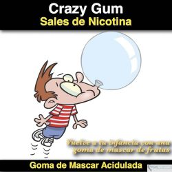 Crazy Gum- (Nicotine Salts)