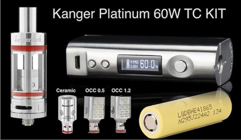 Kanger Platinum Kit