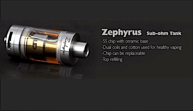 Zephyrus the pure flavore in a subohm RBA